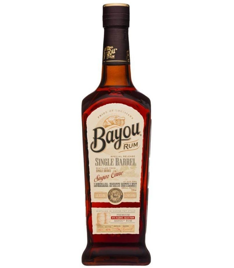 Bayou Single Barrel Rum 70cl