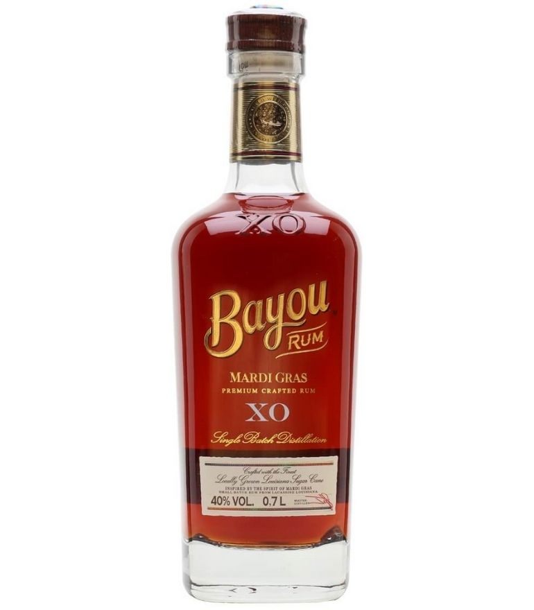 Bayou Mardi Gras Xo Rum 70cl