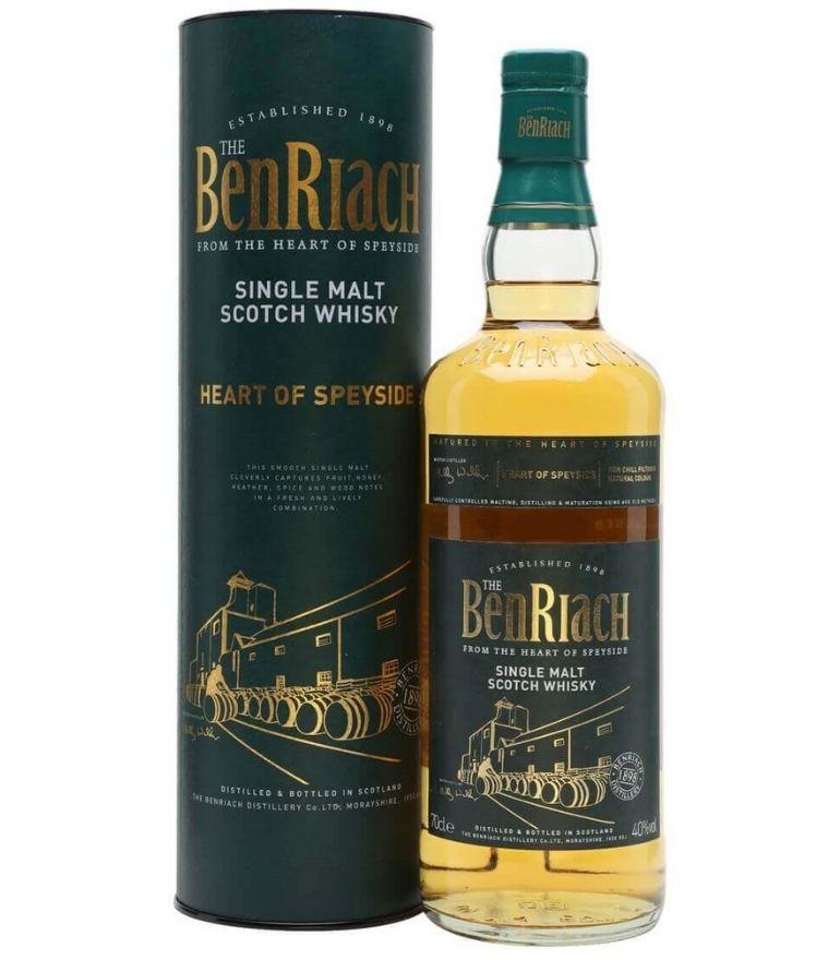 Benriach Single Malt Whisky Heart Of Speyside 70cl