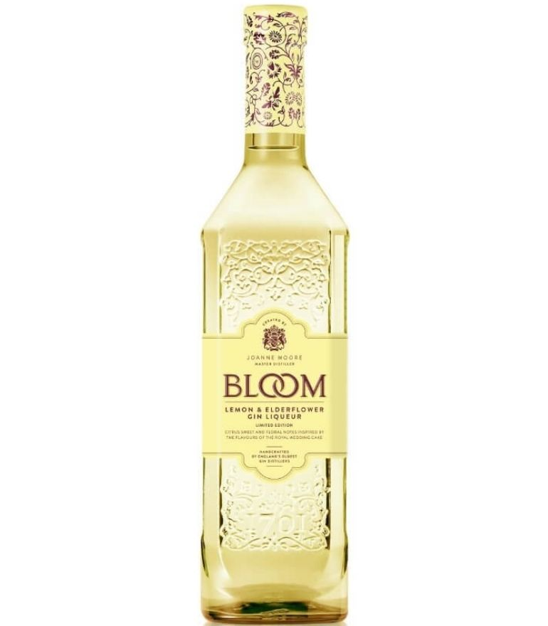Bloom Lemon & Elderflower Gin 70cl