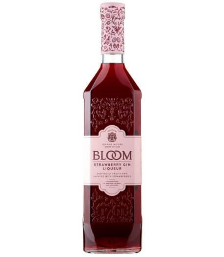 Bloom Strawberry Cup Gin 70cl