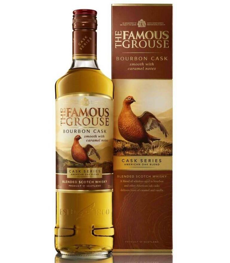 Famous Grouse Scotch Whisky Bourbon Cask 70cl