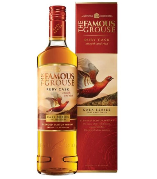 Famous Grouse Scotch Whisky Ruby Cask 70cl