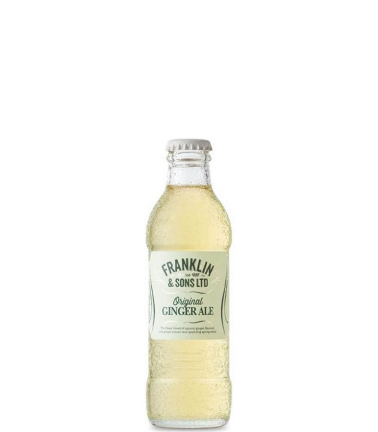 Franklin & Sons Ginger Ale Bottle 20cl X 24