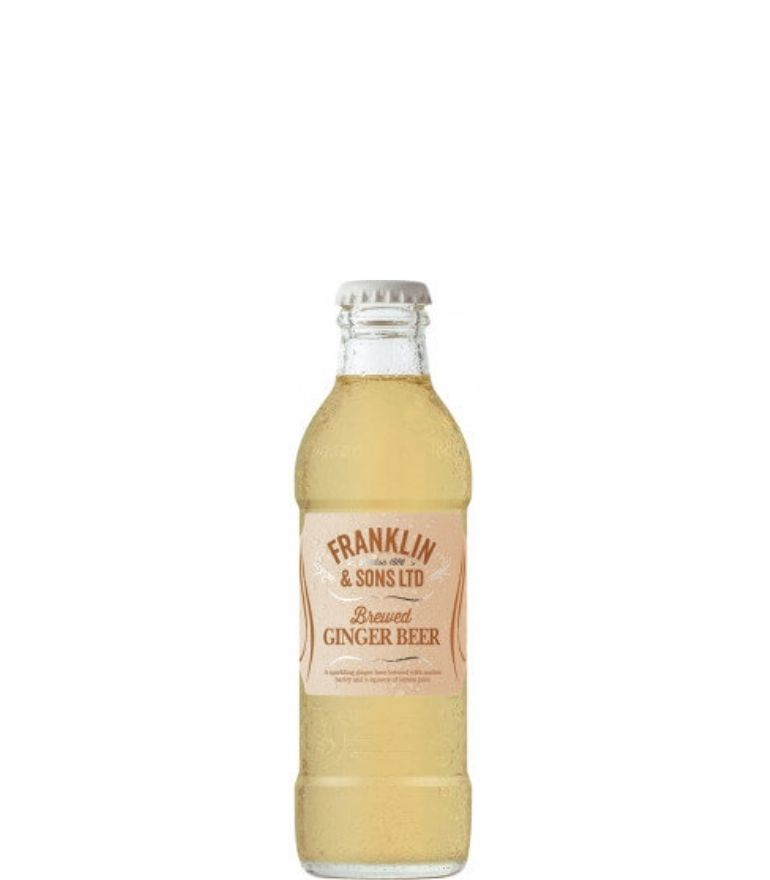 Franklin & Sons Ginger Beer Bottle 20cl X 24