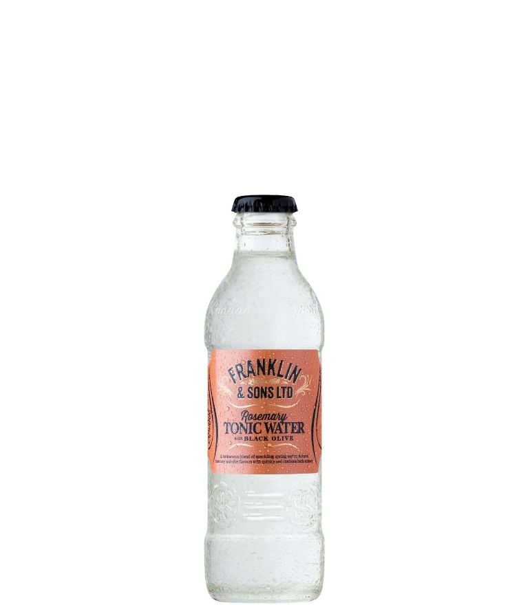 Franklin & Sons Rosemary & Black Olive Tonic Bottle 20cl X 24