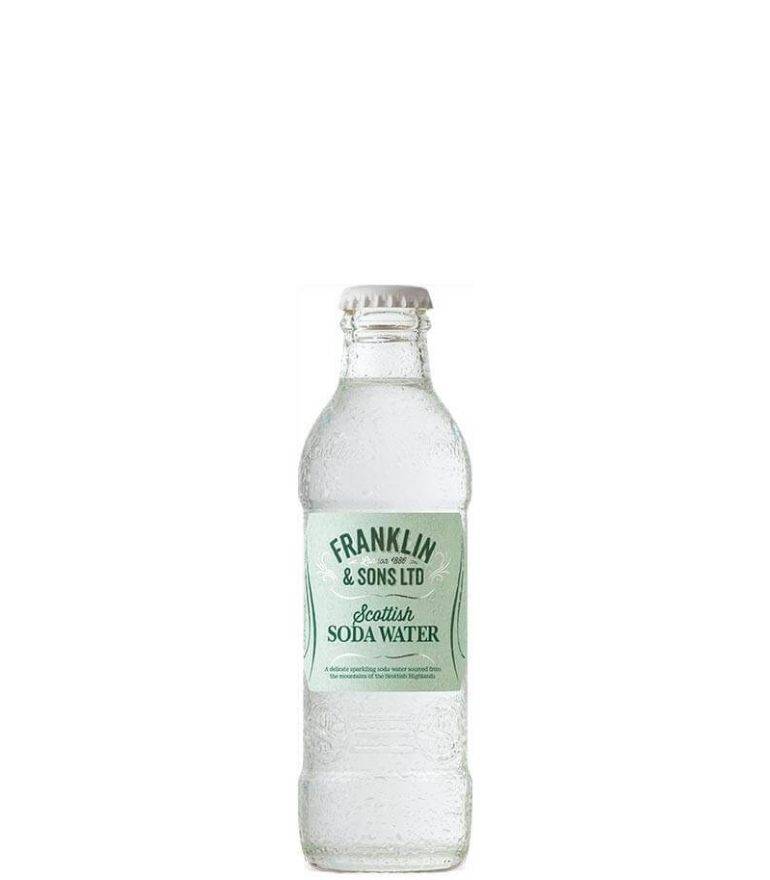 Franklin & Sons Soda Water Bottle 20cl X 24