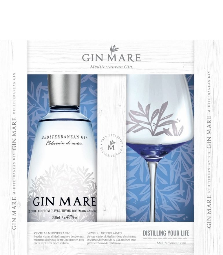 Gin Mare With Glass 70cl
