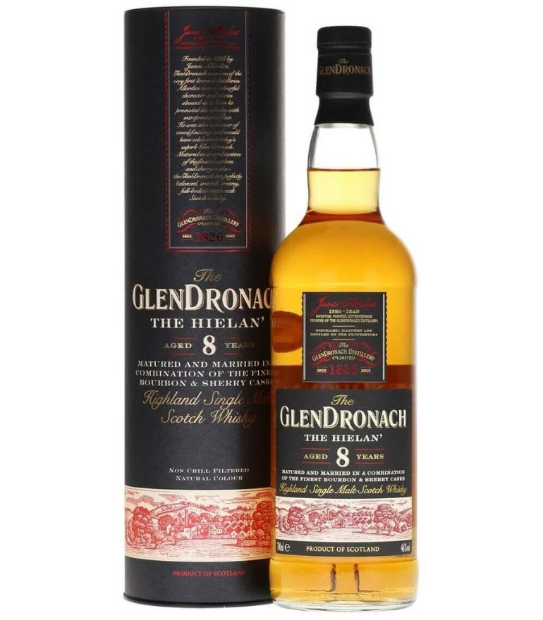 Glendronach Single Malt Whisky 8Yrs The Heilan 70cl