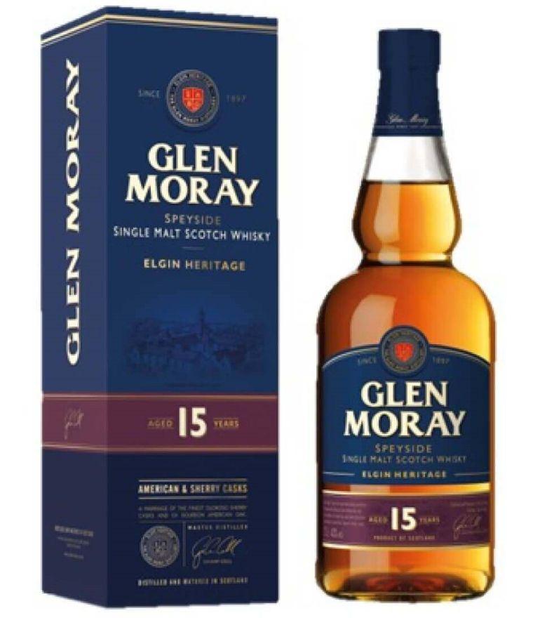 Glen Moray Single Malt Whisky 15Yrs 70cl