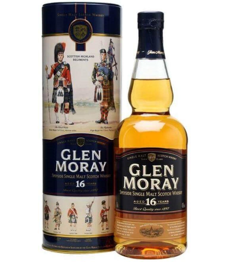 Glen Moray Single Malt Whisky 16Yrs 70cl