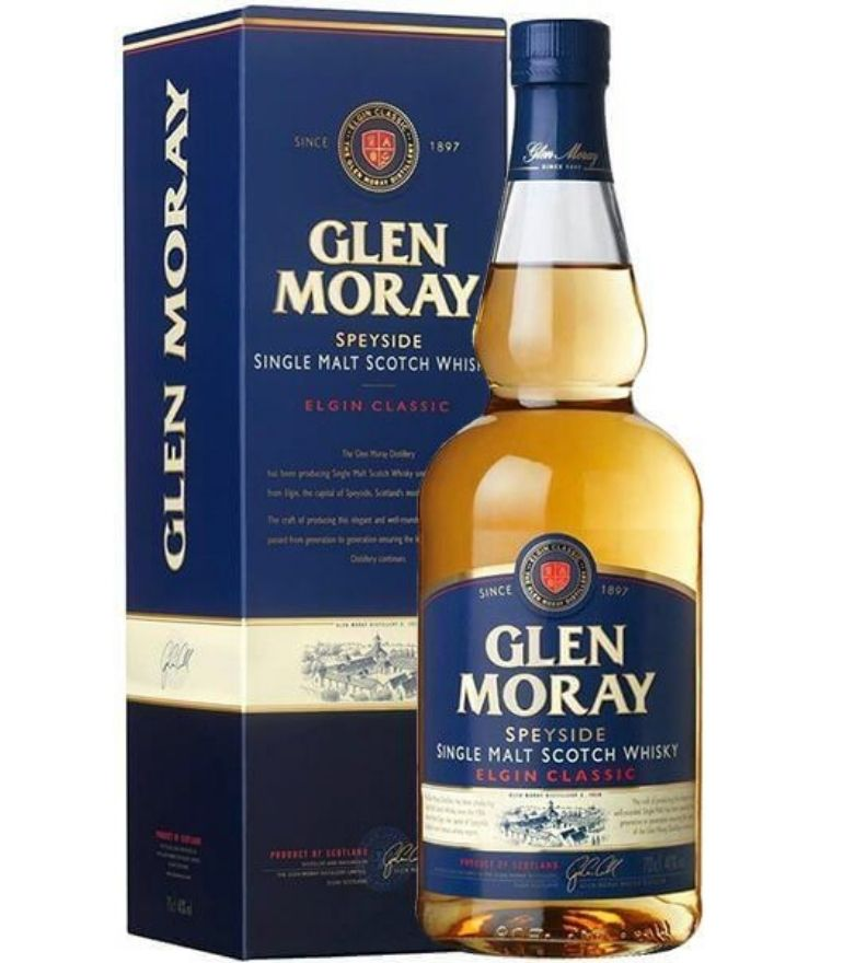 Glen Moray Single Malt Whisky Elgin classic 70cl