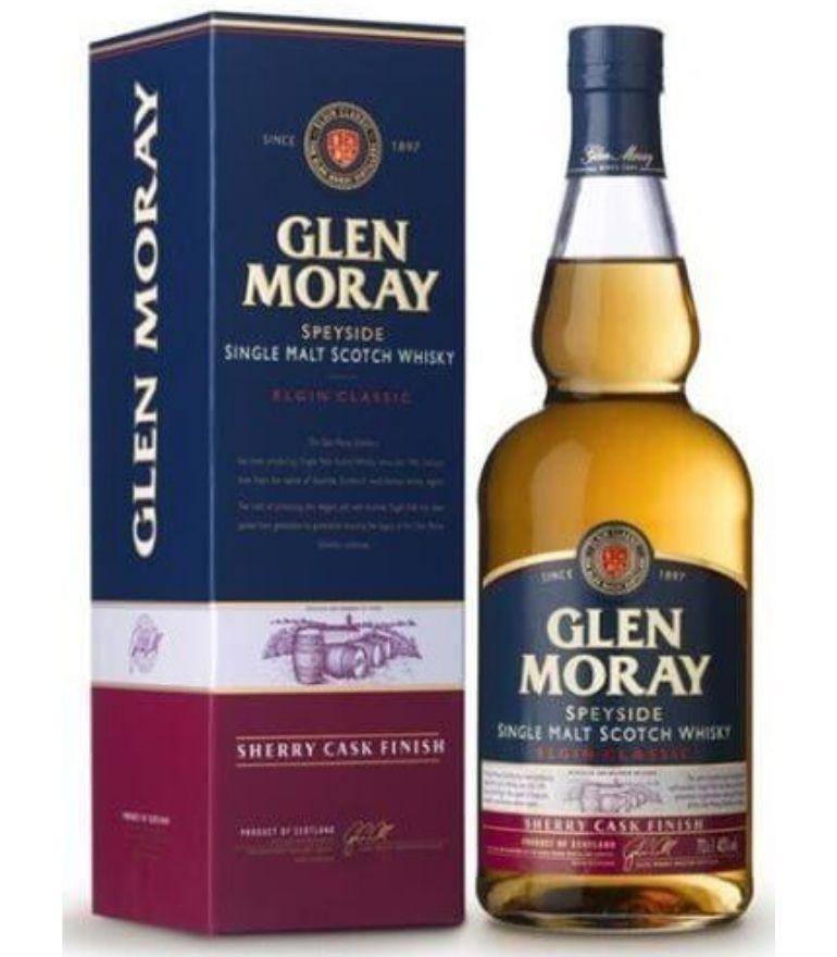 Glen Moray Single Malt Whisky Sherry Cask 70cl