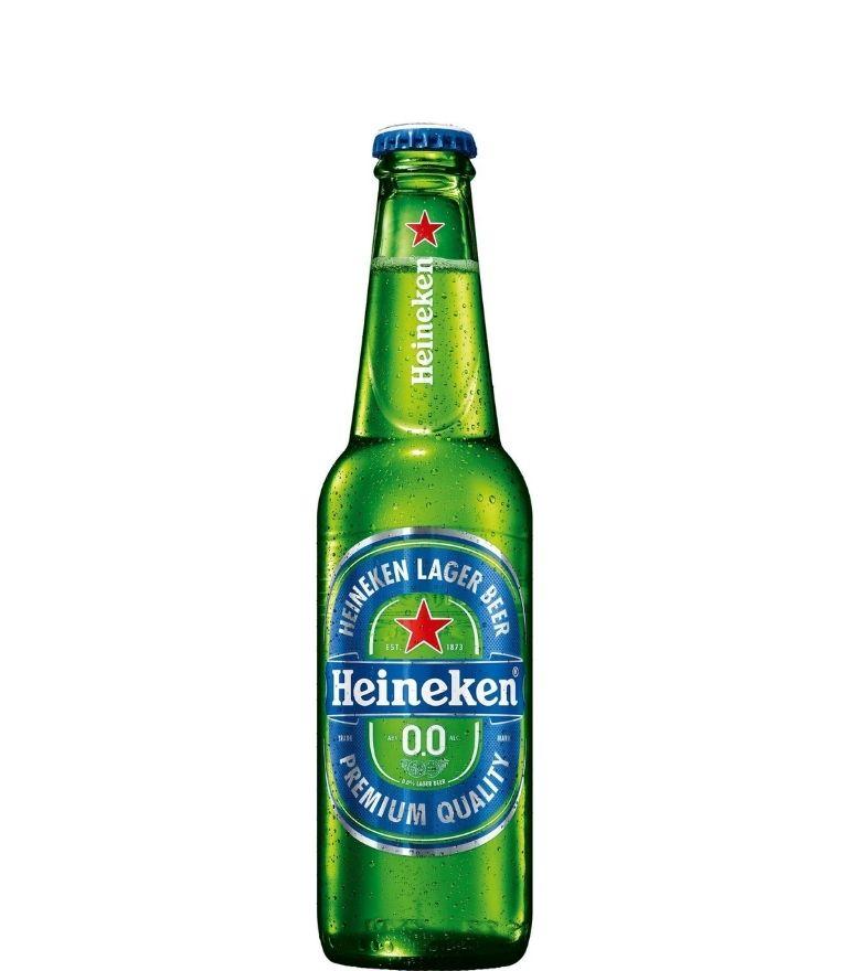 Heineken Lager 0.0 33cl Bottle X 24