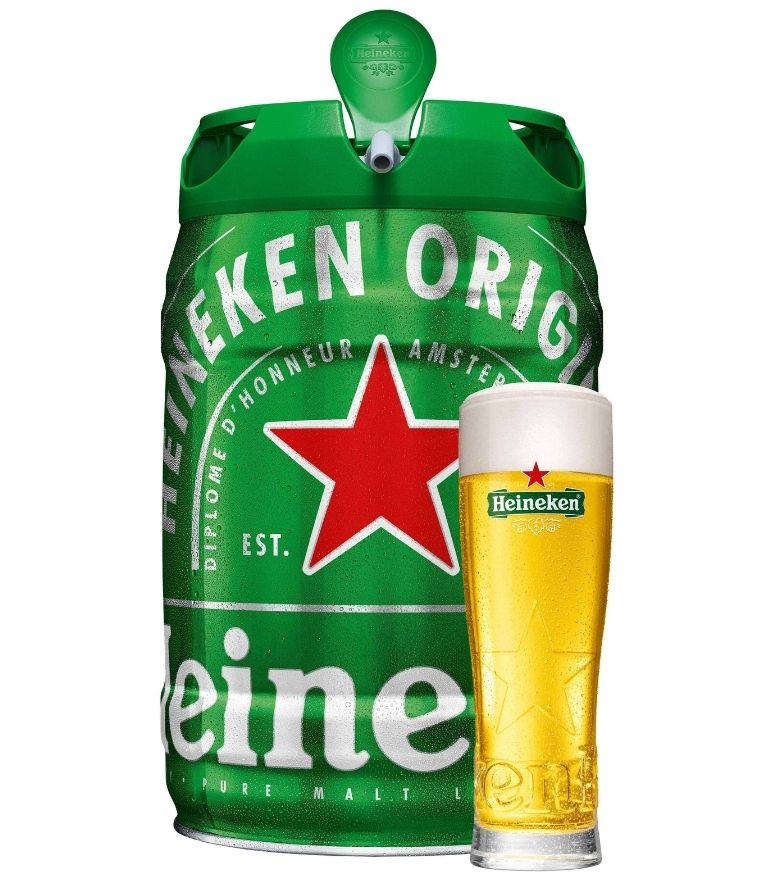 Heineken Lager 5Ltr Keg