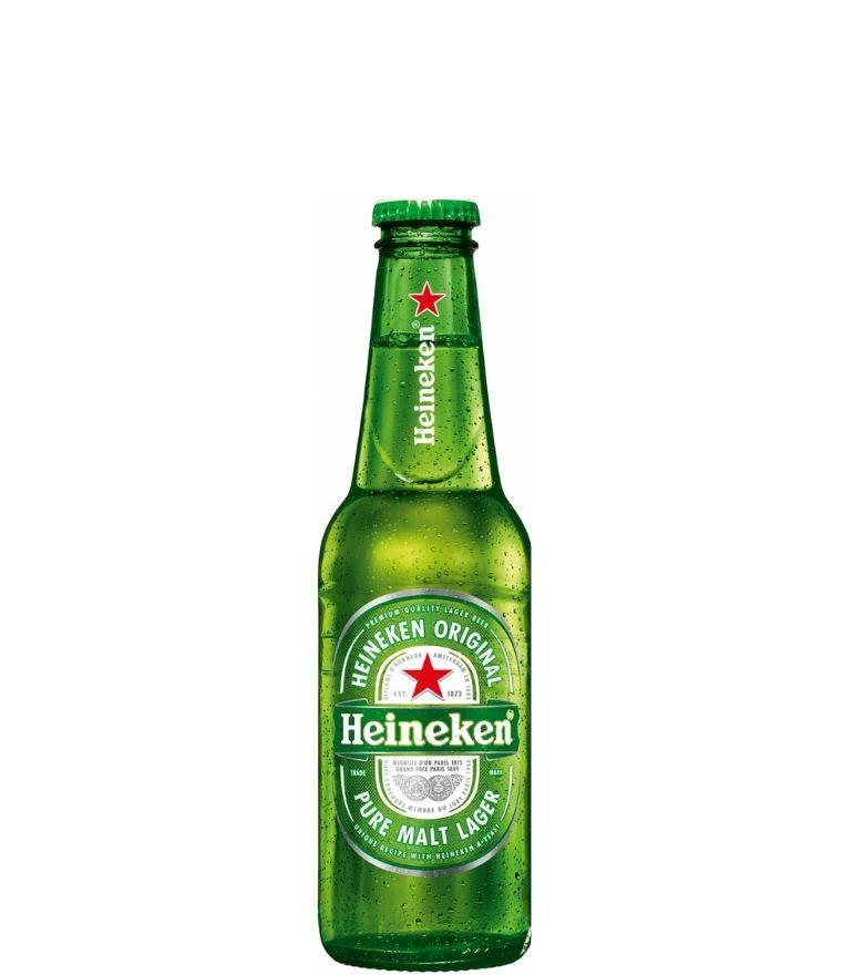 Heineken Lager 25cl Bottle X 24
