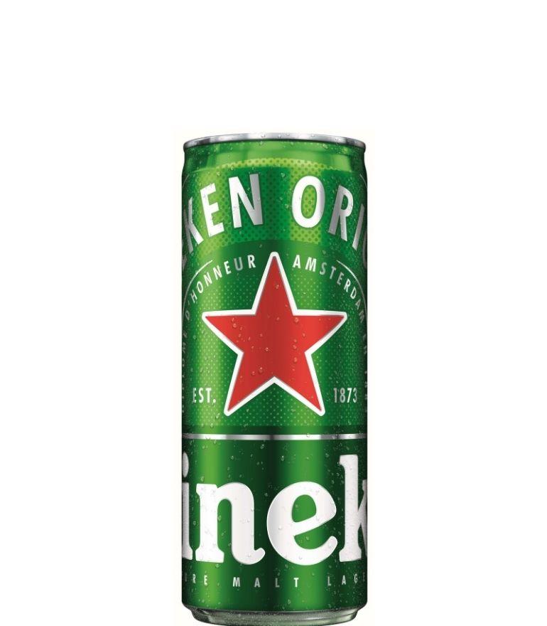 Heineken Lager 25cl Can x 24