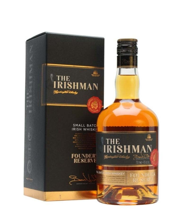 The Irishman Founders Whiskey Reserve 70cl