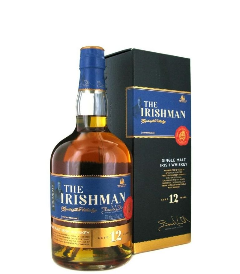 The Irishman Single Malt 12Yr 70cl