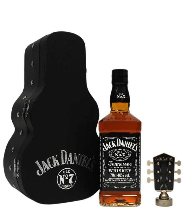 Jack Daniel's No.7 70cl Guitar Case