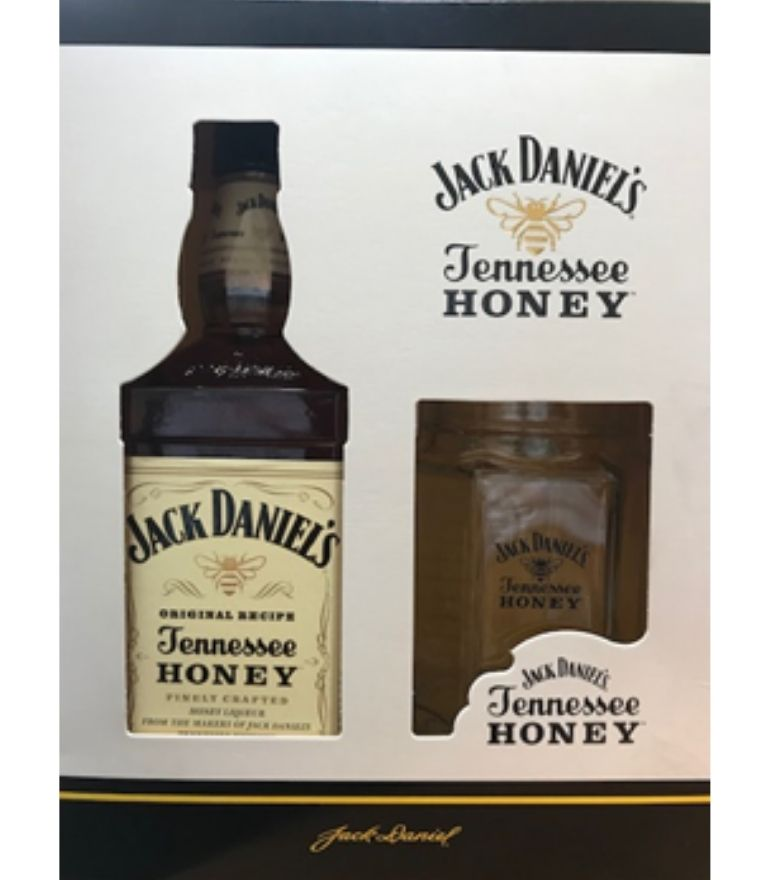 Jack Daniel's Tennessee Honey 70cl With Jar Carton Pack