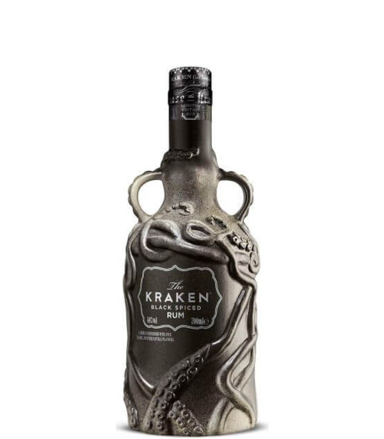 Kraken Spiced Dark Rum Limited Edition Bottle 70cl