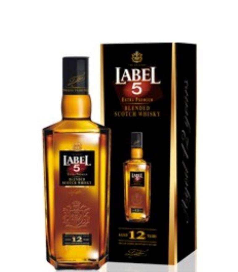 Label 5 Scotch Whisky 12Yrs 70cl