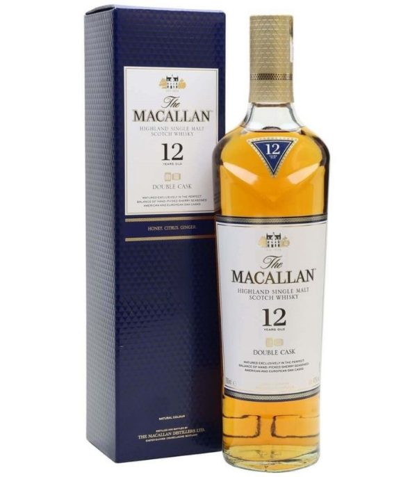 The Macallan 12Yrs Double Cask 70cl