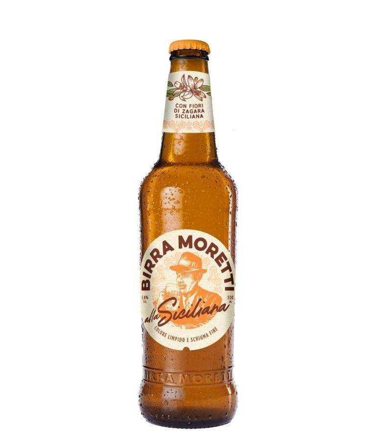Birra Moretti Siciliana 50cl X 20