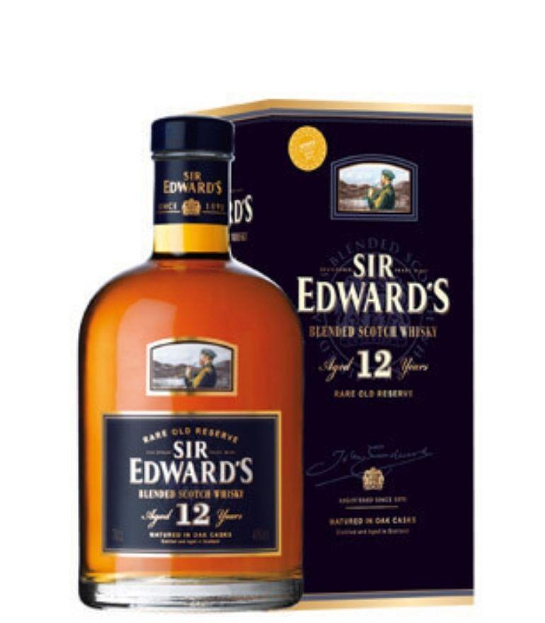 Sir Edward's Scotch Whisky 12Yrs 70cl