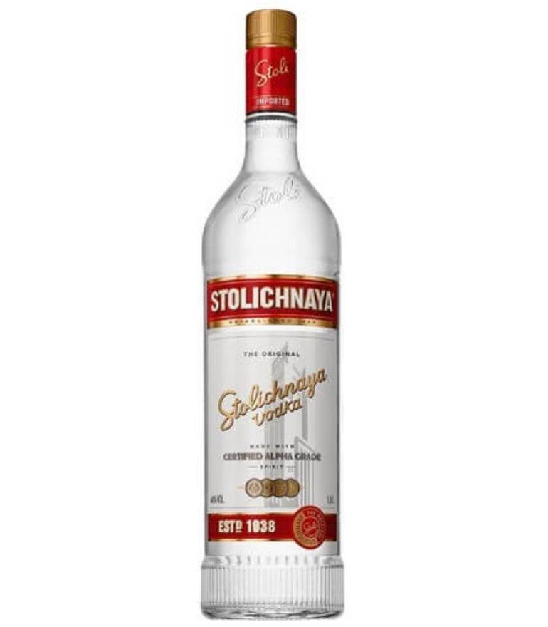Stolichnaya Red Vodka 100cl