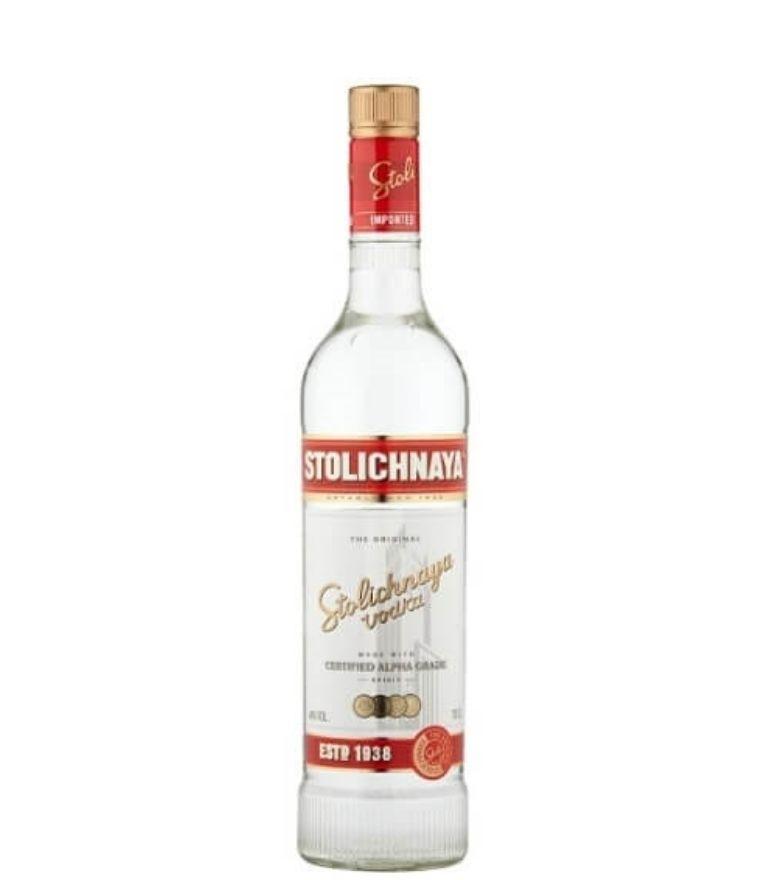 Stolichnaya Red Vodka 70cl
