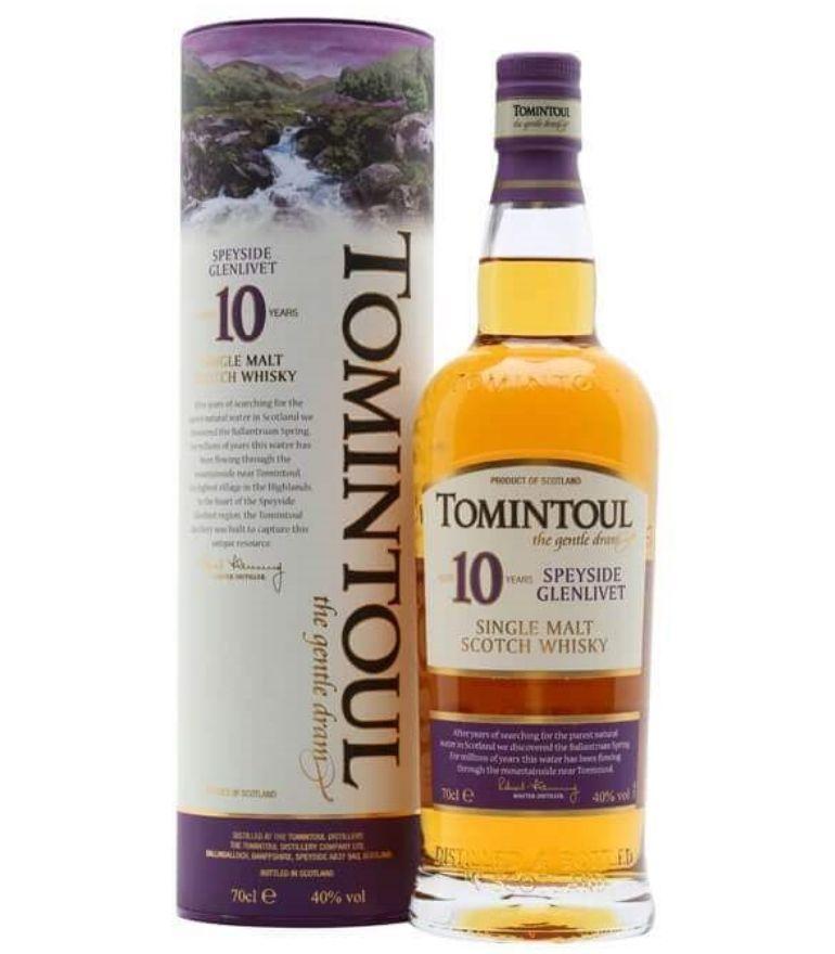 Tomintoul Single Malt Whisky 10Yrs 70cl