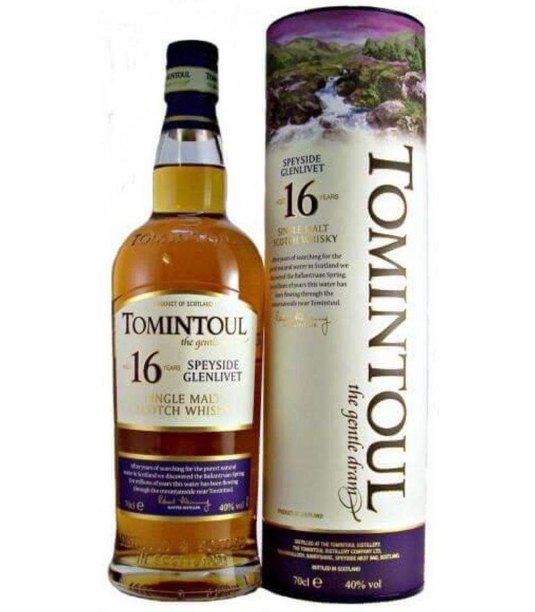Tomintoul Single Malt Whisky 16Yrs 70cl