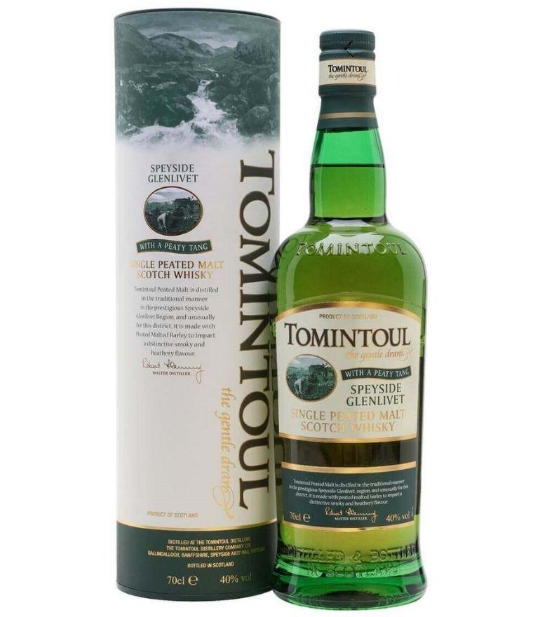 Tomintoul Single Malt Whisky Peaty 70cl
