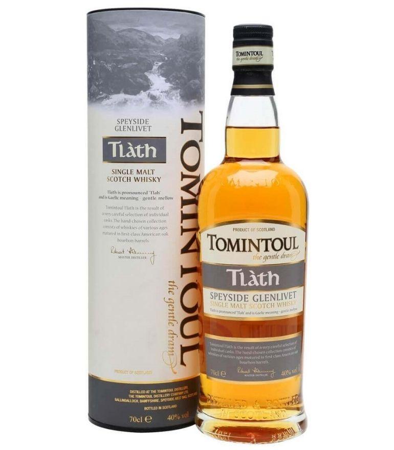 Tomintoul Single Malt Whisky Tlath 70cl