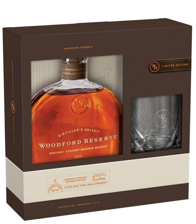 Woodford Reserve 70cl With Glass Pack