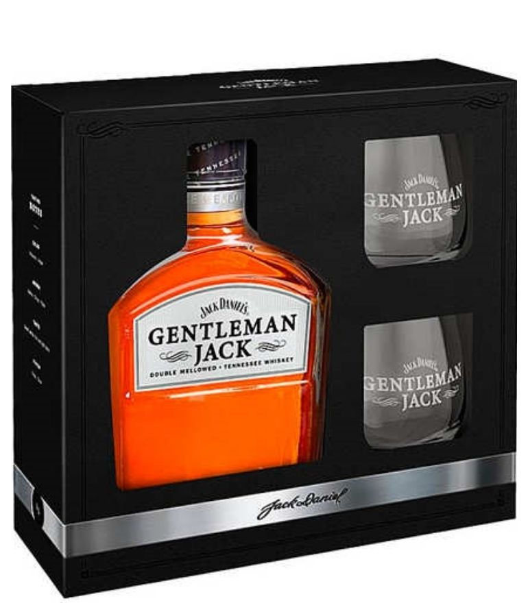 Gentleman Jack 2 Glass Pack 70cl