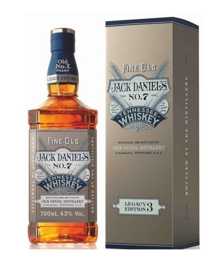 Jack Daniel's Legacy Edition No.3 70cl