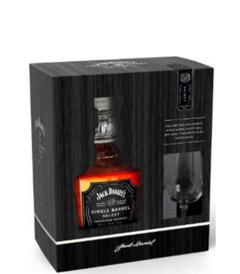 Jack Daniel's Single Barrel 70cl with Nosing Glass