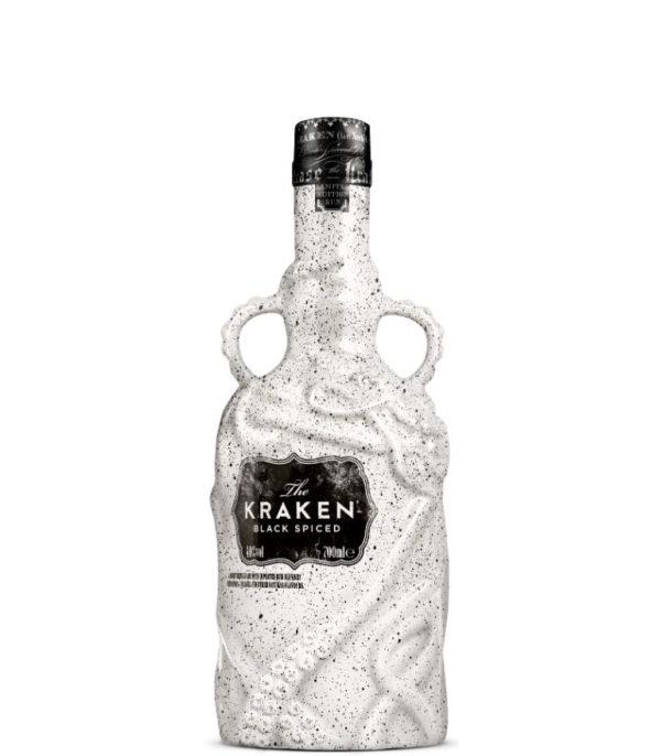 Kraken Black Spiced Rum Limited Edition White Ceramic 70cl