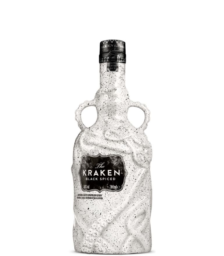 Kraken Black Spiced Rum Limited Edition White Ceramic 70cl