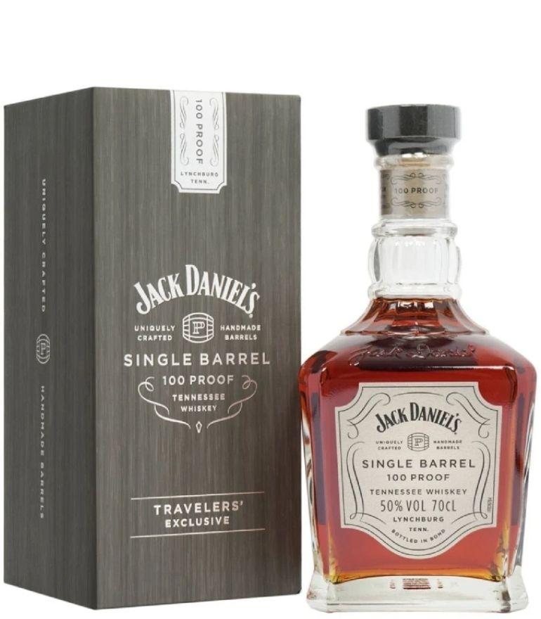 Jack Daniel's Single Barrel 100 Proof Travelers' Exclusive 70cl