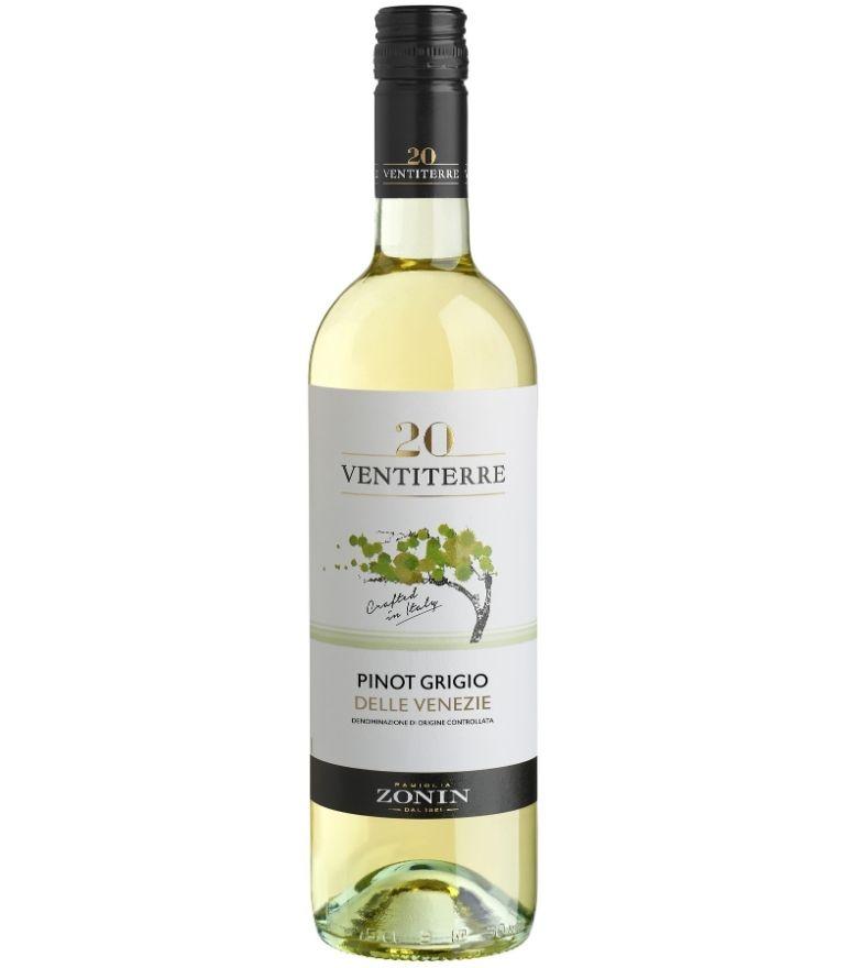 Zonin Regions Ventiterre Pinot Grigio 75cl