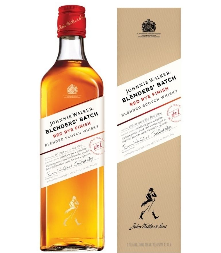 Johnnie Walker Red Rye Finish Whisky 70cl