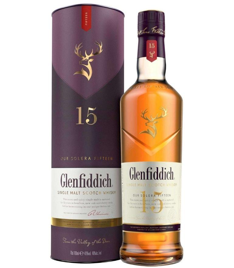 Glenfiddich 15yr Solera Single Malt 70cl