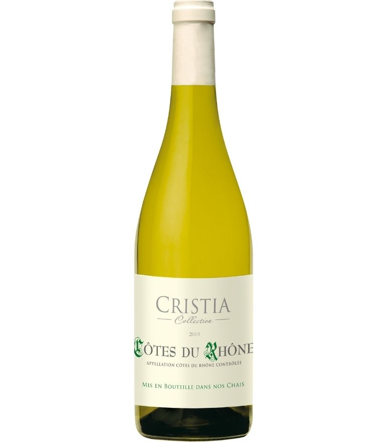 Cristia Cotes du Rhone Blanc Collcection 75cl