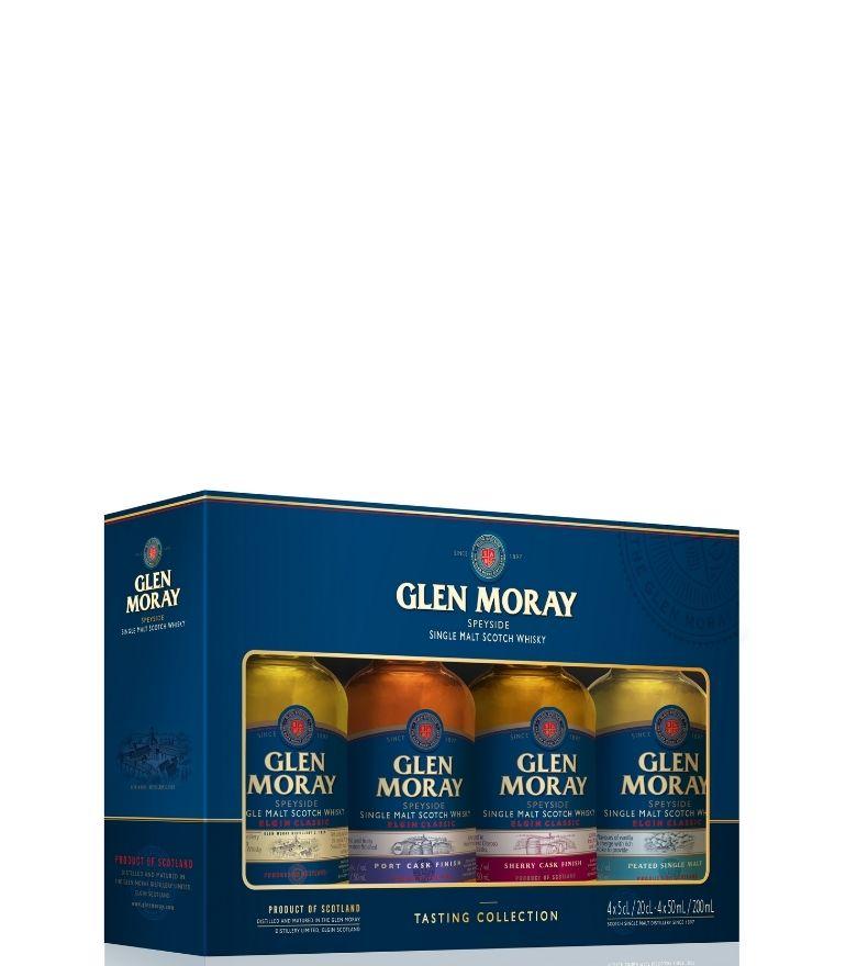 Glen Moray Miniature Pack 4 x 5cl