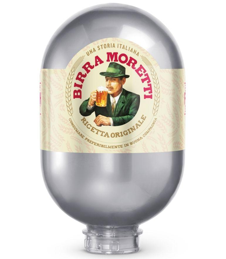 Birra Moretti Blade Keg 8 Litre