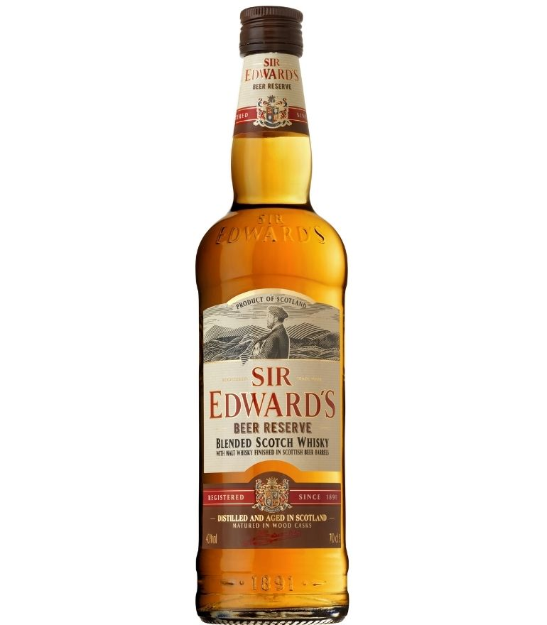 Sir Edward's Scotch Whisky Beer Reserve 70cl